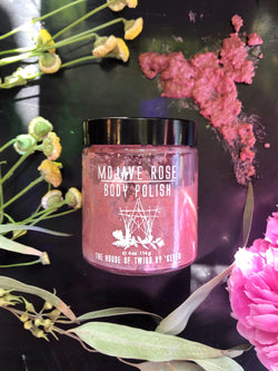 Body Scrub & Polish - Mojave Rose - Keven Craft Rituals