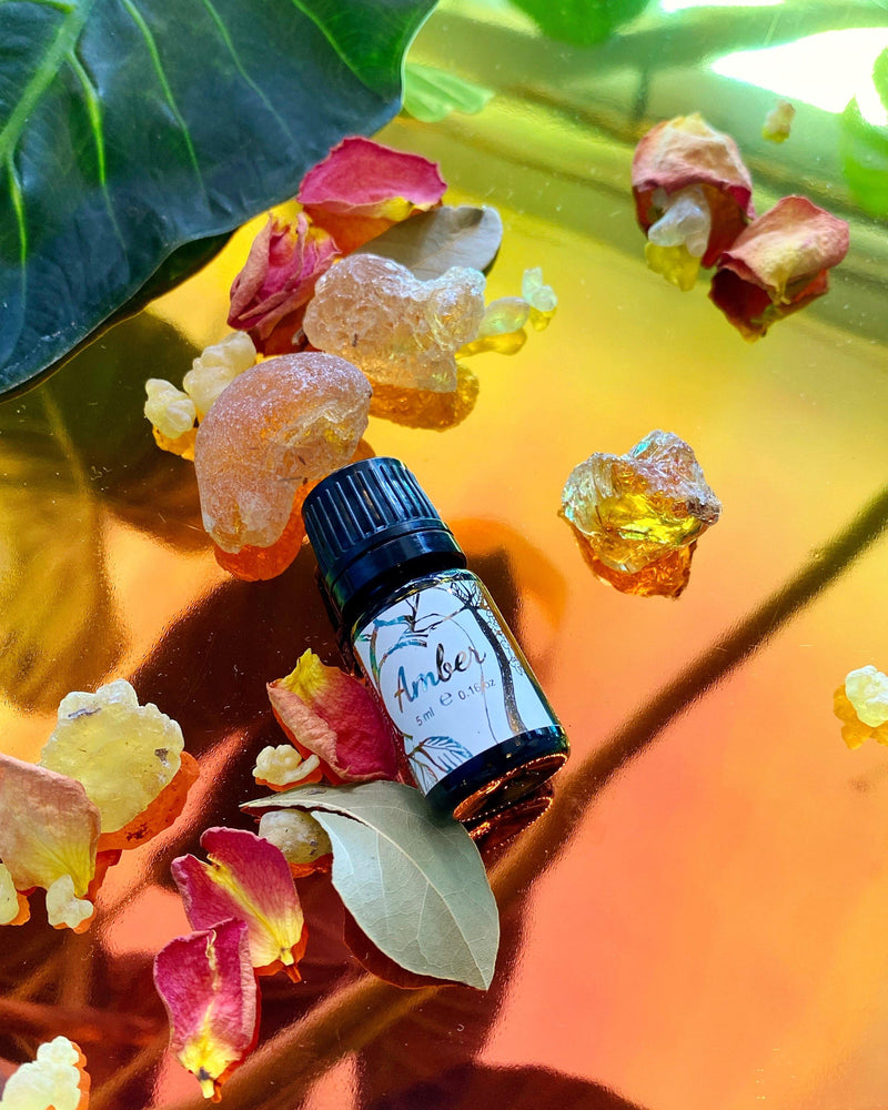 Amber (All Natural): Intentional Essential Oil Blend - For Diffusers, Anointing, & Spellwork