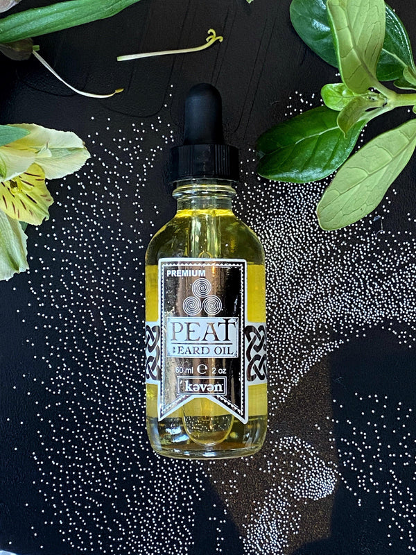 (Triple Smoked) Peat - Beard Oil - Keven Craft Rituals
