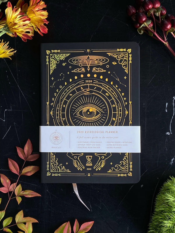 2020 Astrological Planner - Magic of I (Black) - Keven Craft Rituals