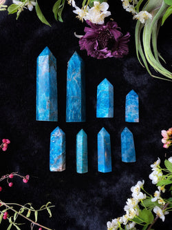 Blue Apatite - Towers