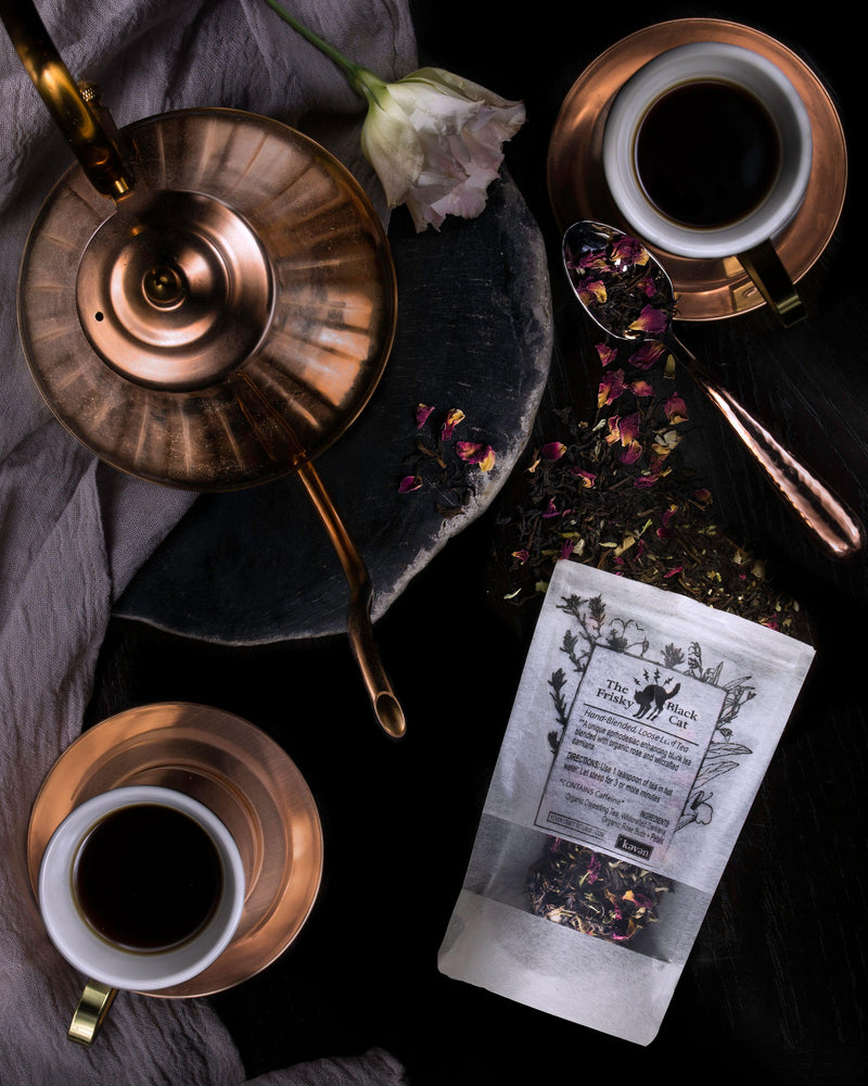 Tea - The Frisky Black Cat Blend (loose) - Keven Craft Rituals
