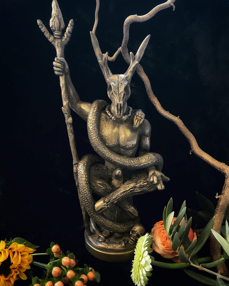Witch Lord - Deity Statue for Altars and Decor