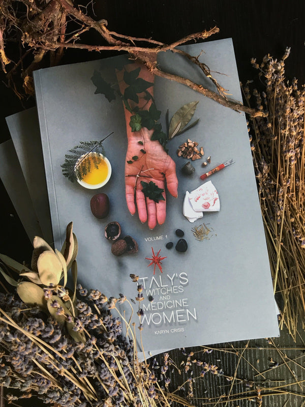Italy's Witches and Medicine Women Vol. 1 Book - Keven Craft Rituals