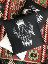 "Load image into Gallery viewer, Hand of the Occult - Throw Pillow Cover (Cotton) 20"" x 20"""