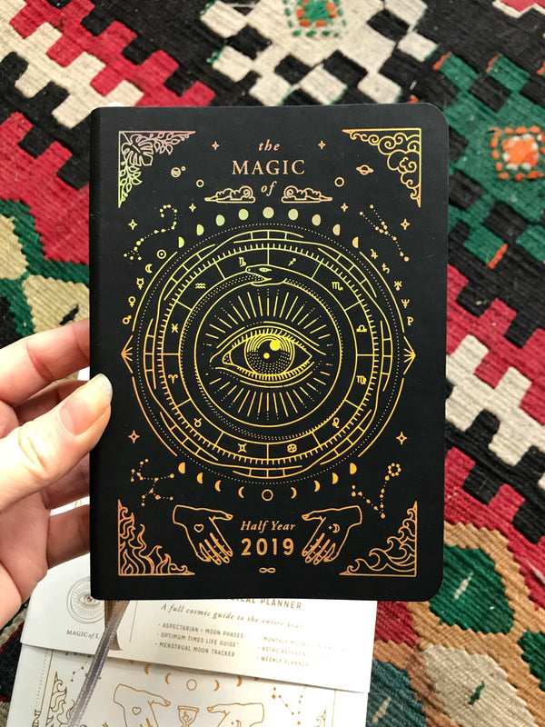 2020 Mini Astrological Pocket Planner - Magic of I - Keven Craft Rituals