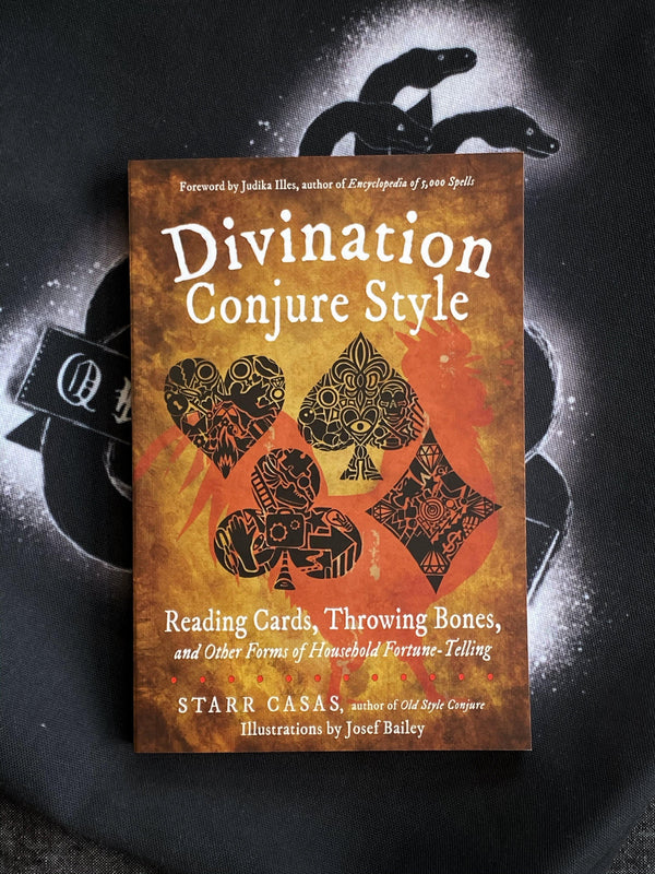 Divination Conjure Style Reading Cards, Throwing Bones, and Other Forms of Household Fortune-Telling