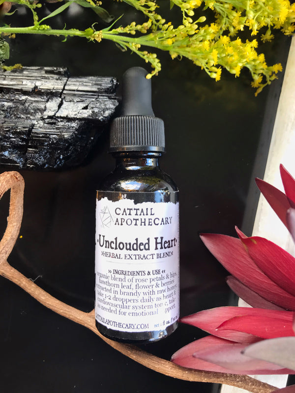 Unclouded Heart // Emotional Support & Heart Tonic - Keven Craft Rituals