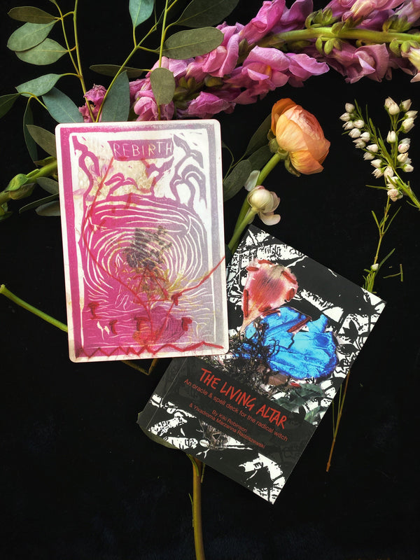 The Living Altar : An Oracle & Spell Deck ofor the Radical Witch