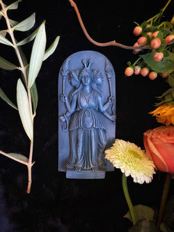 Hecate, Goddess of the Night - Triple Goddess Plaque