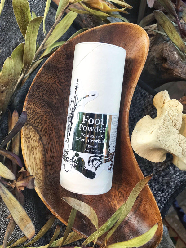 Foot Powder - Talc-Free, Non-Toxic