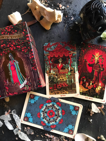 Metaphyscial - Santa Muerte Tarot: Book Of The Dead