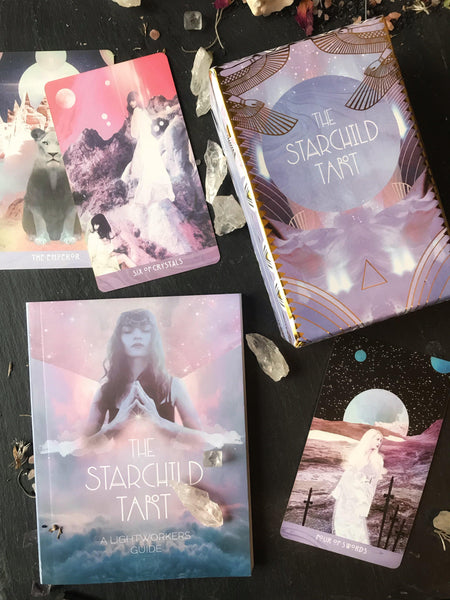 Metaphyscial - The Starchild Tarot Akashic W/ Guidebook
