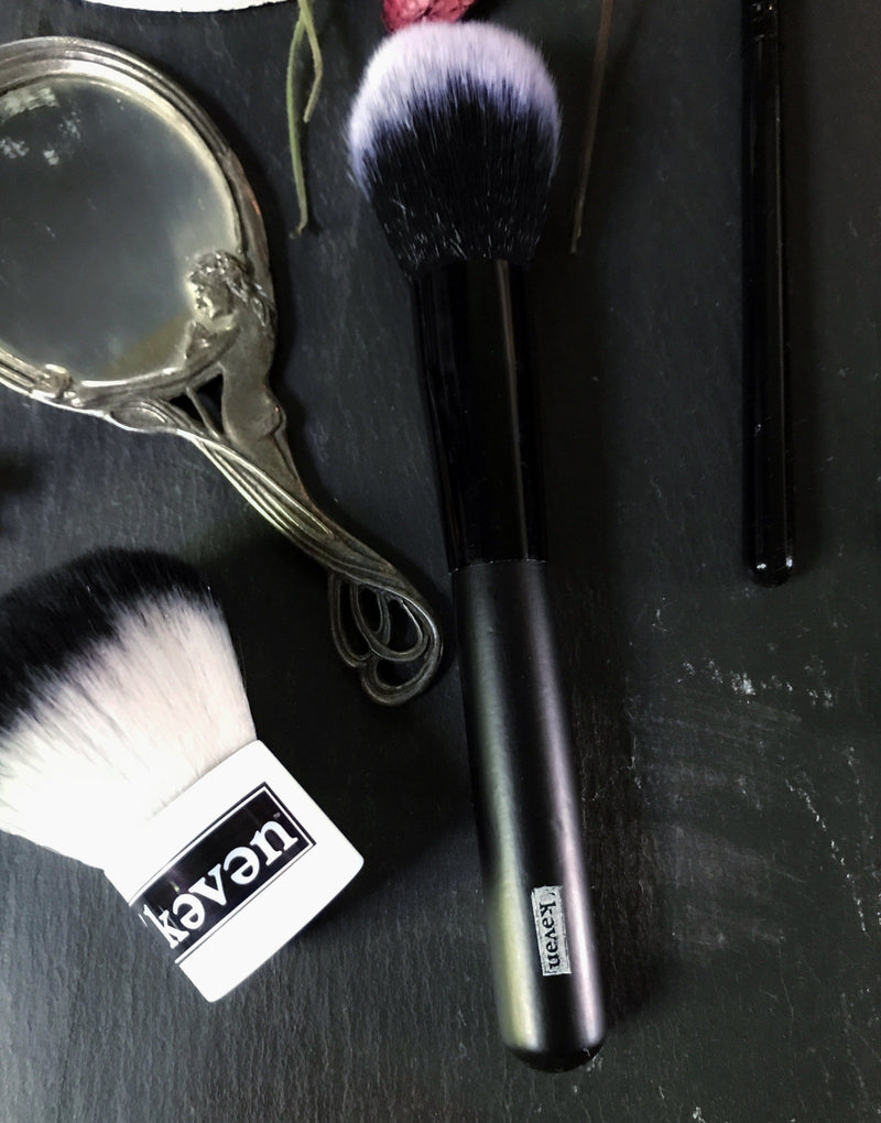 Loose Powder Blush and Contour Brush (Vegan) - Keven Craft Rituals