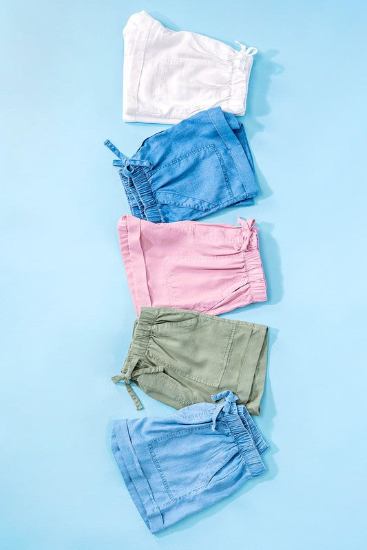 Patch Pocket Summer Shorts