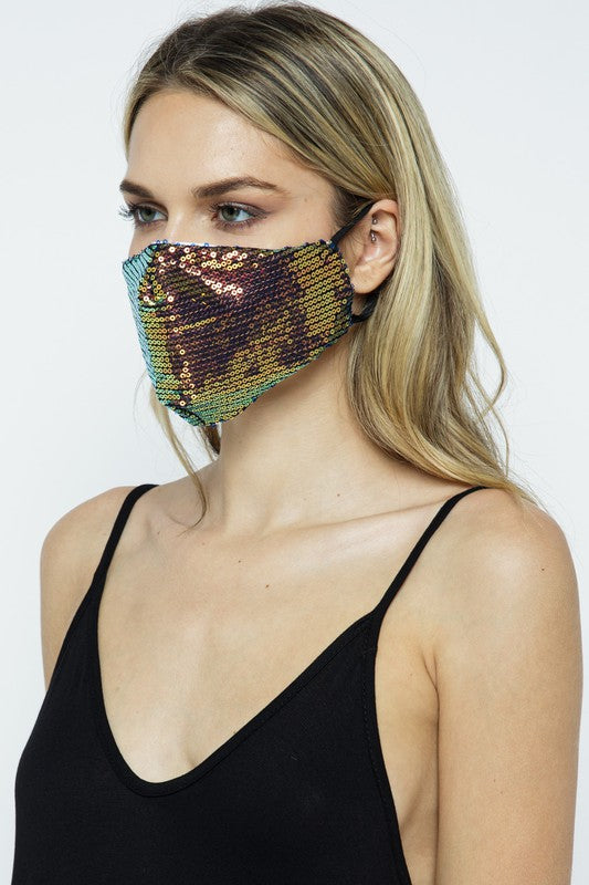 Multi Double Layer Sparkle Mask