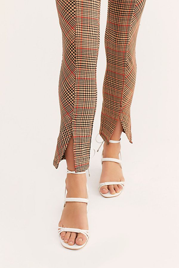 Flyin' High Plaid Skinny Pants
