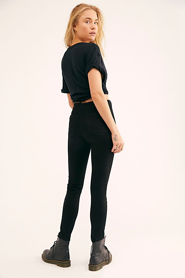 Free People Miles Away Skinny Jeans