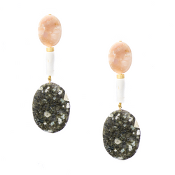 Mod + Jo - Statement Earrings - Sloane Stone