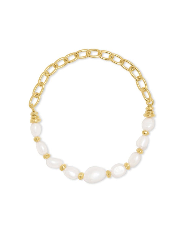Demi Gold Stretch Bracelet
