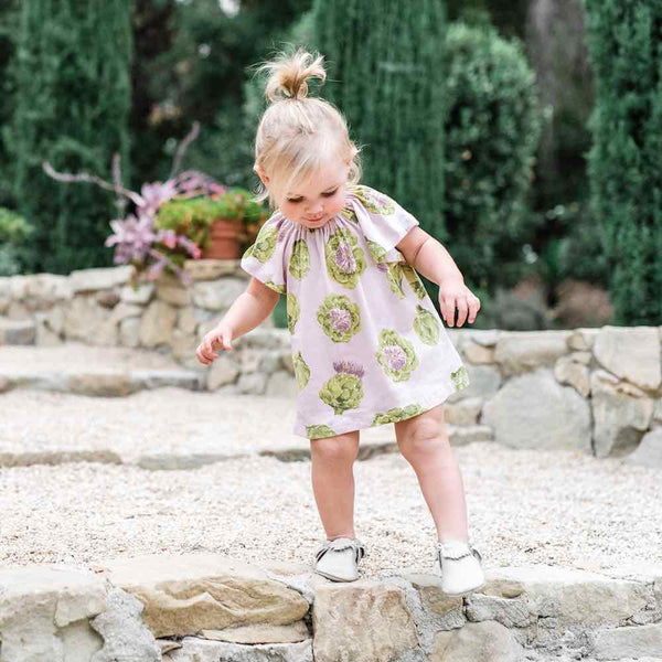 Short Sleeve Dress Set w/ Bloomers