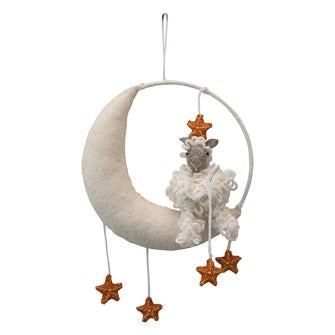 Wool Moon Mobile