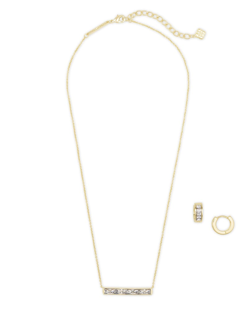 Jack Necklace & Earrings Gift Set