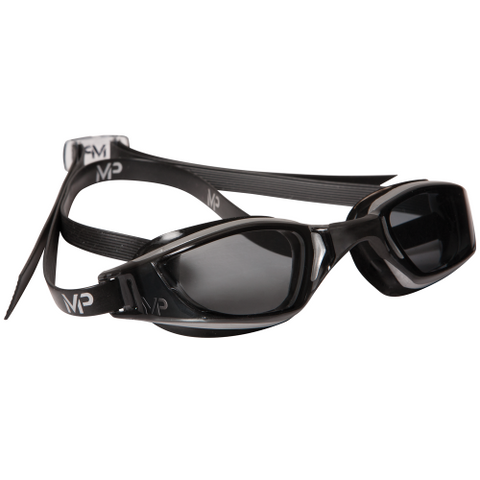 MP - XCEED GOGGLES- Smoke Lens Silver/Black