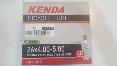 https://www.ontariotrysport.com/products/kenda-fat-tire-tube-26x4-00-5-00-48-mm-presta-valve-removable-valve-core