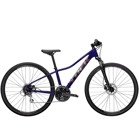 Trek Dual Sport 2 WSD, MSRP $789, 2021, Purple Abyss, ETA April 5<P>Deposit $200
