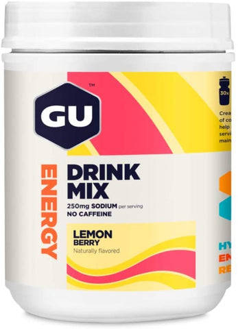 GU ENERGY DRINK LEMON BERRY