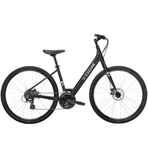 Trek Verve 1 Disc Lowstep, MSRP $639.99, 2021,Dnister Black, ETA APRIL 26<P>Deposit $200