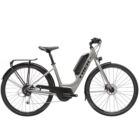 TREK Verve+ 2 Lowstep, MSRP $3469.99, 2021, Matte Metallic Gunmetal, ETA APRIL-MAY<P>Deposit $900