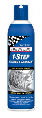 FINISH LINE 1-STEP CLEAN AND LUB