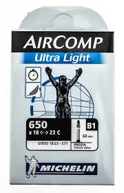 Michelin Aircomp Ultra Light Tube 650, 18x23c