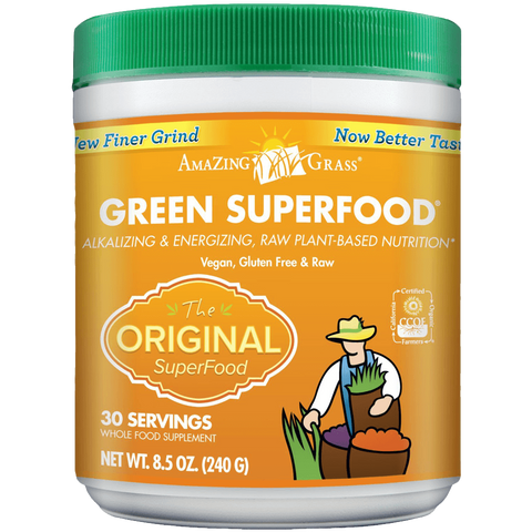 Amazing Grass Green SuperFood Original 30 Servings 8.5 Ounces