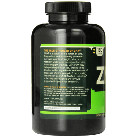 Optimum Nutrition ZMA 180 Capsules