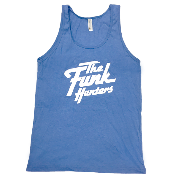 Solid Logo Tank Top - Heather Lake Blue