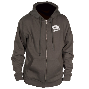 Funk Hunters Embroidered Logo Zip Hoodie