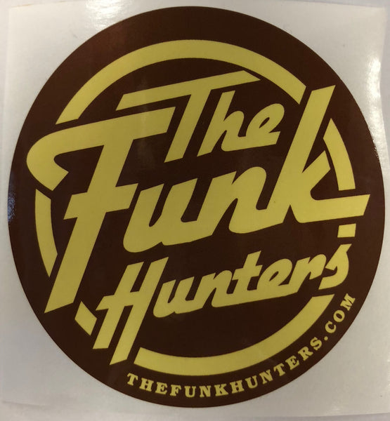 The Funk Hunters Stickers - 4 Pack