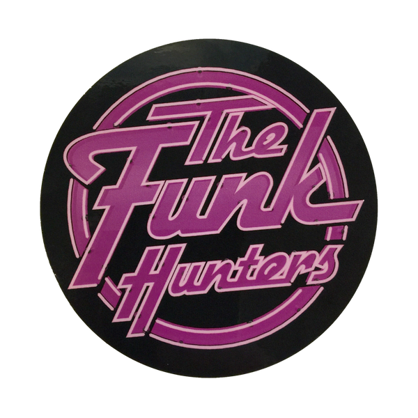 The Funk Hunters Stickers 4 Pack