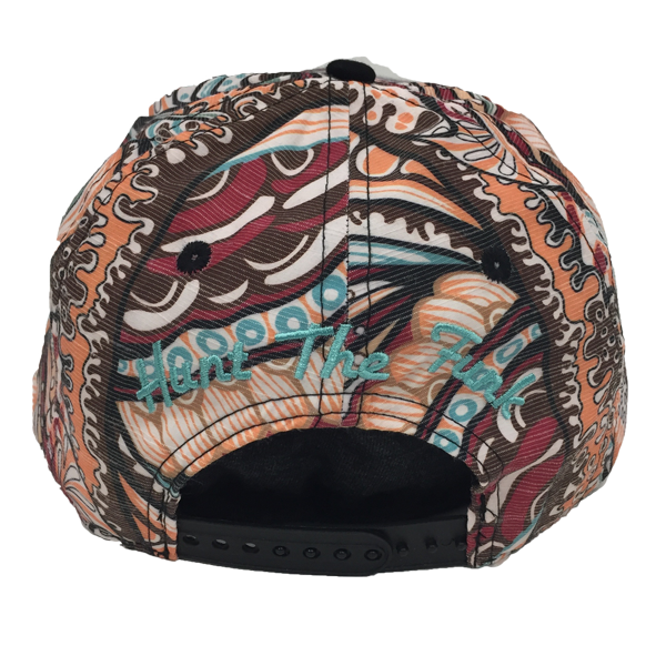 Tropical Grassroots Snapback Hat