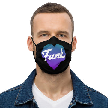 Funk Heart Face Mask