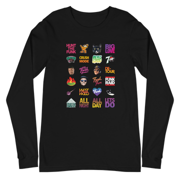 Twitch Fam Long Sleeve on Black