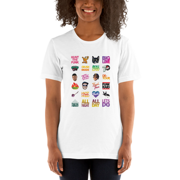 Twitch Fam T-Shirt on White