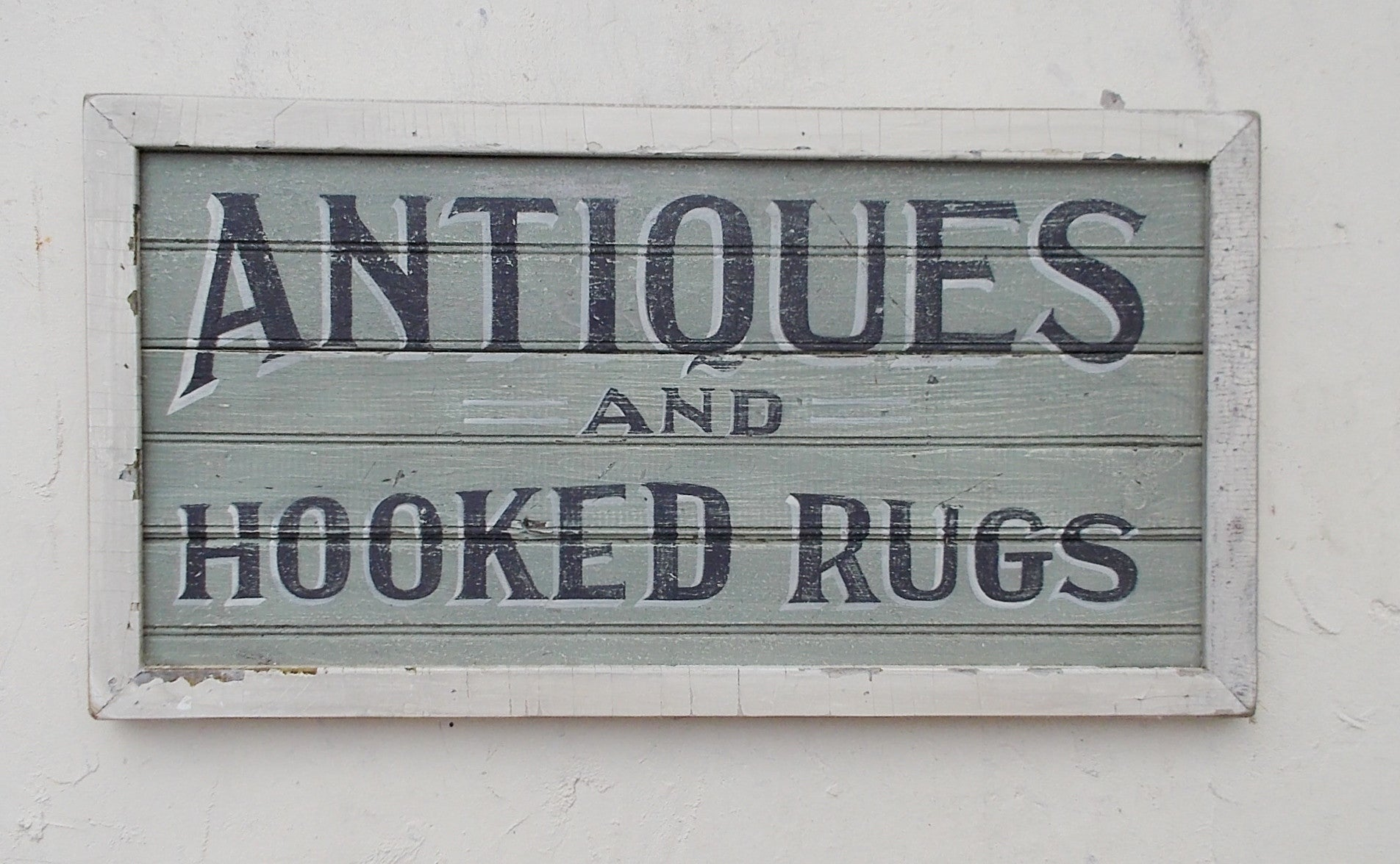 Antiques and Hooked Rugs