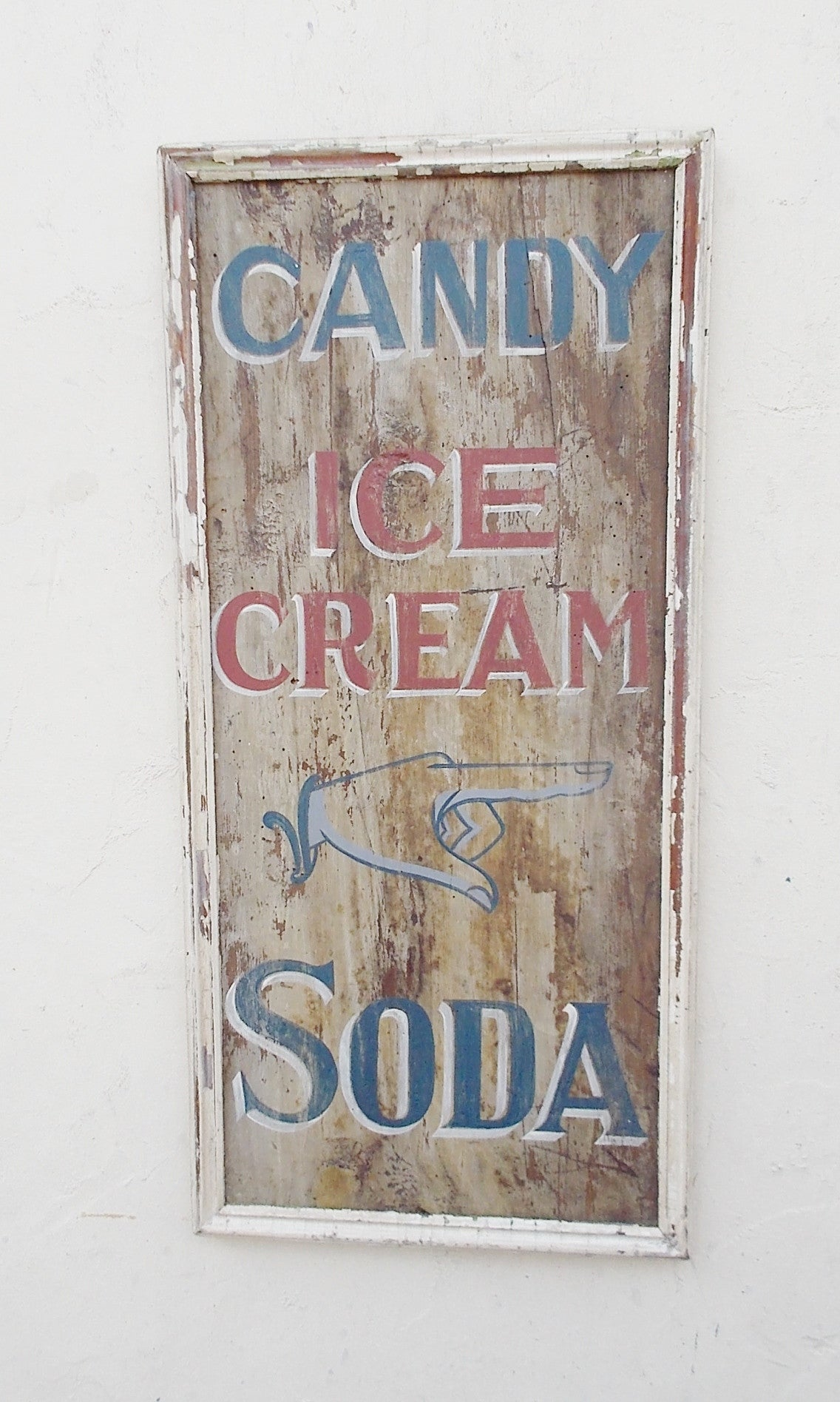 Candy, Ice Cream, Soda