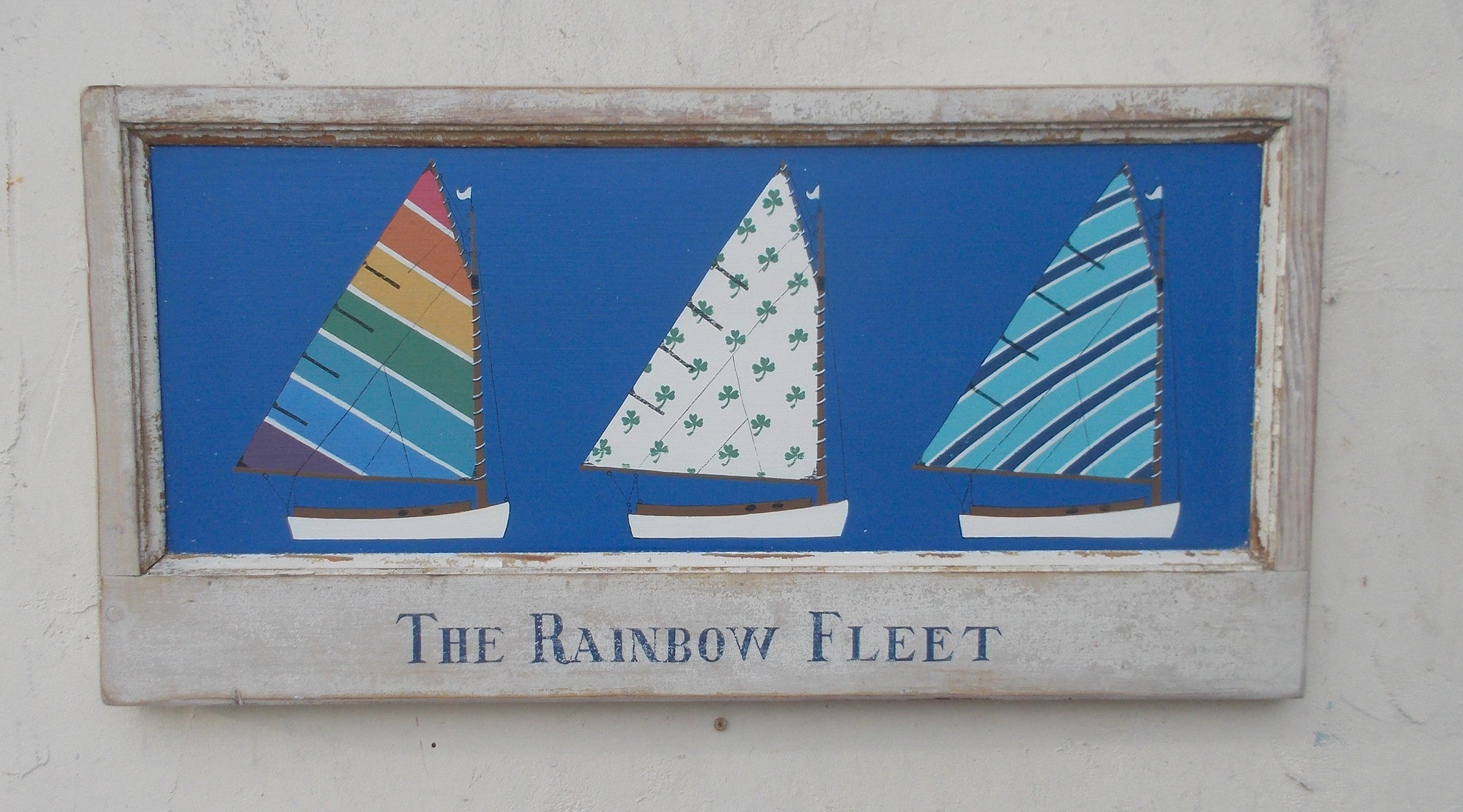 Rainbow Fleet in old frame