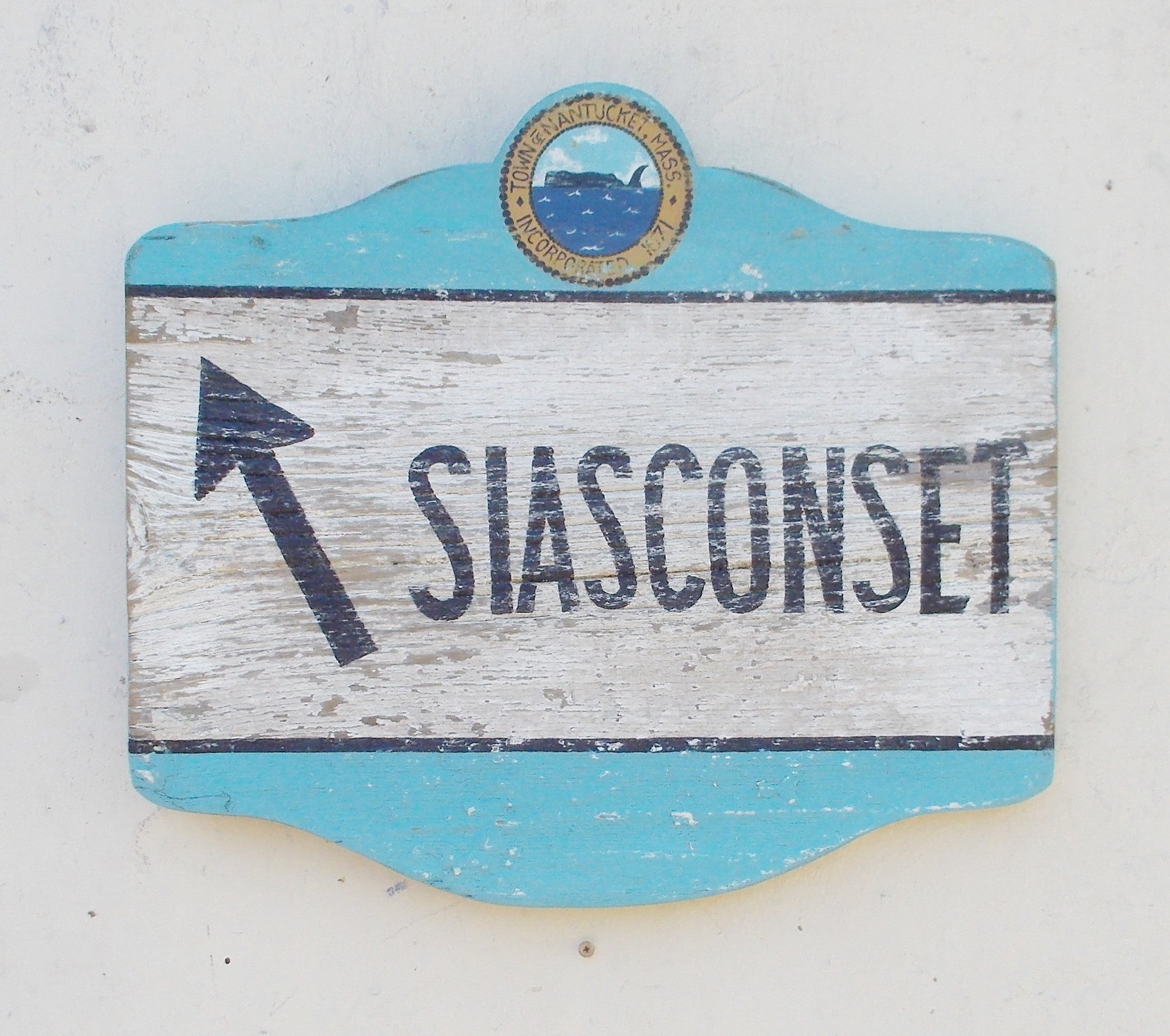 "18"" Siasconset Directional Sign"