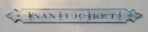 Nantucket Quarterboard with hooks